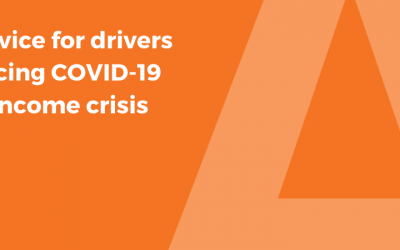 Advice for drivers facing Covid-19 income crisis